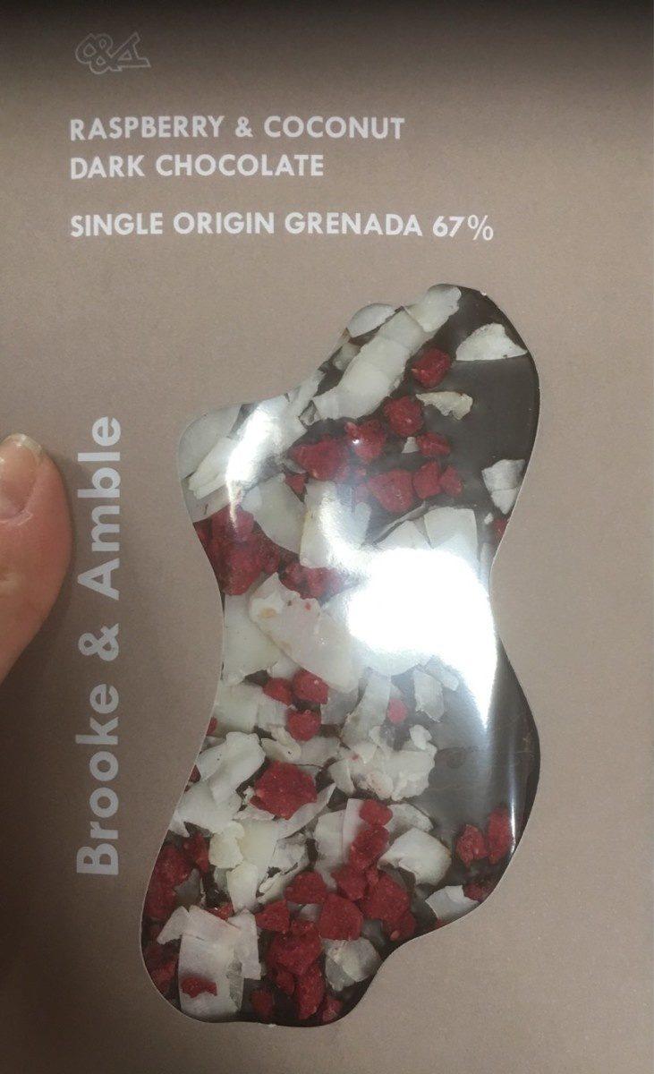 Raspberry & coconut - Produit