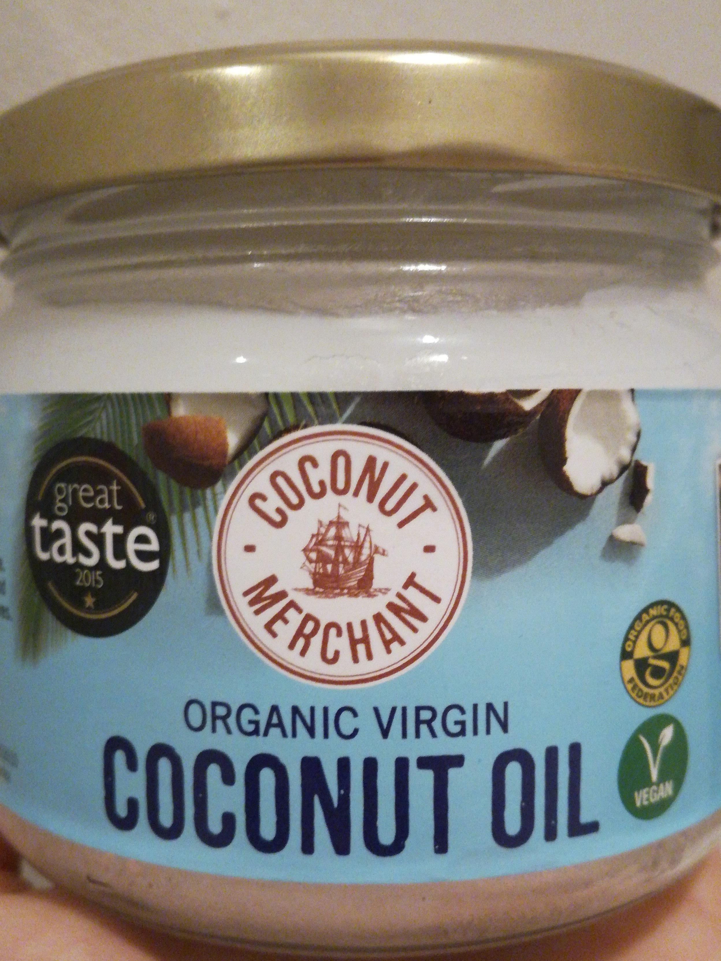 Organic virgin coconut oil - Produit - en