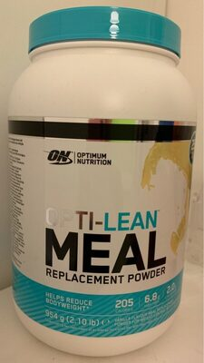 Opti-lean Meal Replacement Powder - Product