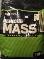 Serious MASS - Product