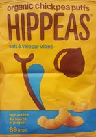 Organic chickpea puffs - Product