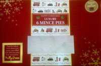 Luxury mince pies - Product