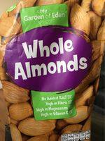 Whole Almonds - Produit - fr