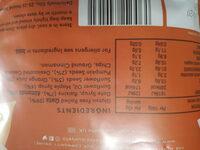 Original Granola - Nutrition facts