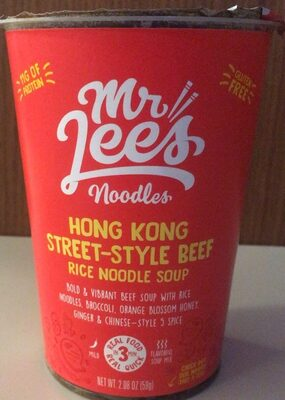 Hong Kong Street-Style Beef Rice Noodle Soup - Product - en