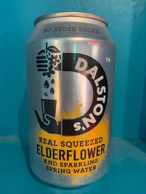 Real squeezed elderflower and sparkling water - Producte