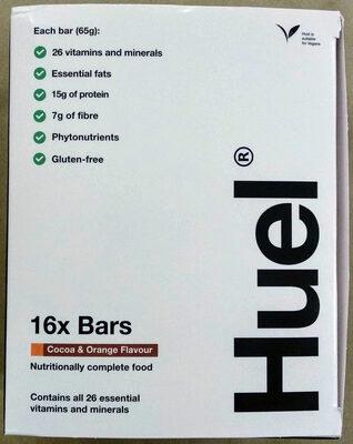 Huel Bar cacao & orange - Prodotto - en
