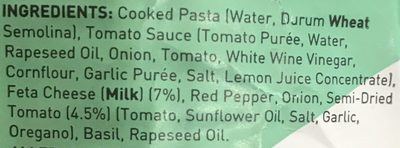 Feta + Tomato Pasta - Ingrédients - fr