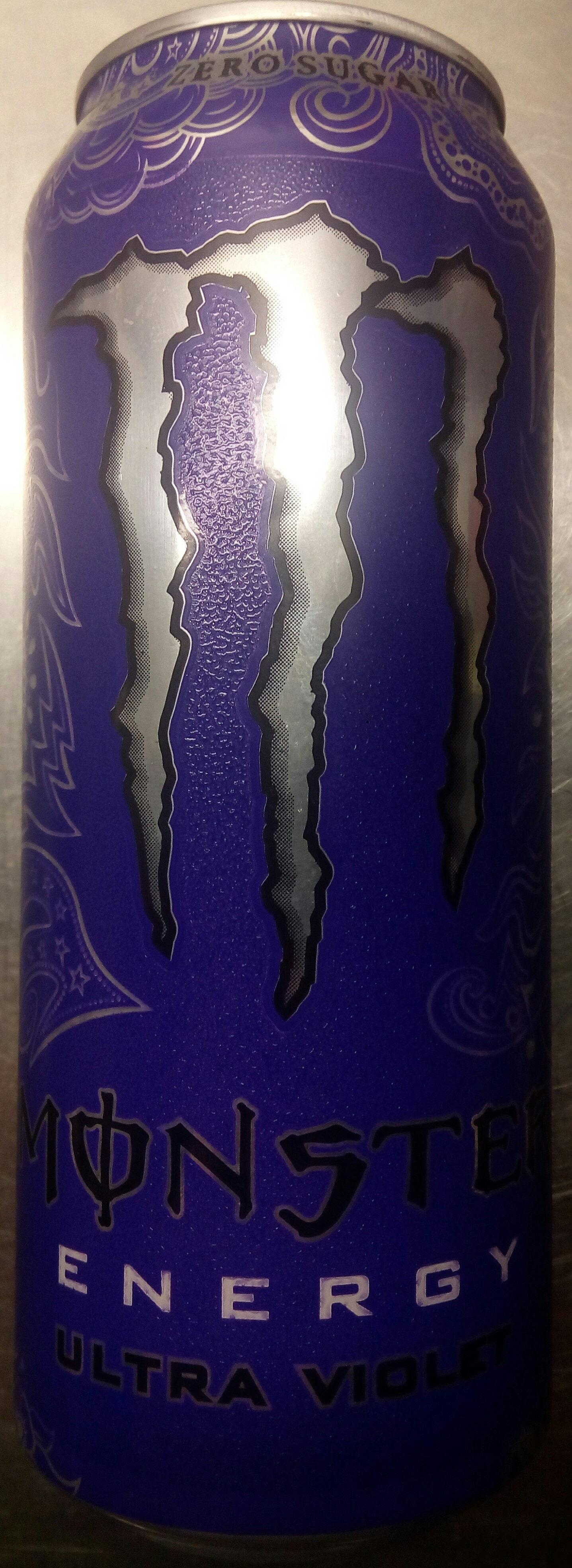Monster Energy Ultra Violet - Produit - sv