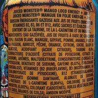 Juiced - Mango loco - Ingrediënten