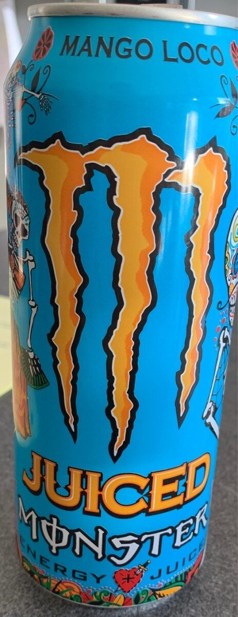 Monster energy juiced Mango Loco - Produit - fr
