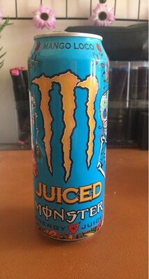 Monster energy juiced Mango Loco - Informations nutritionnelles - fr