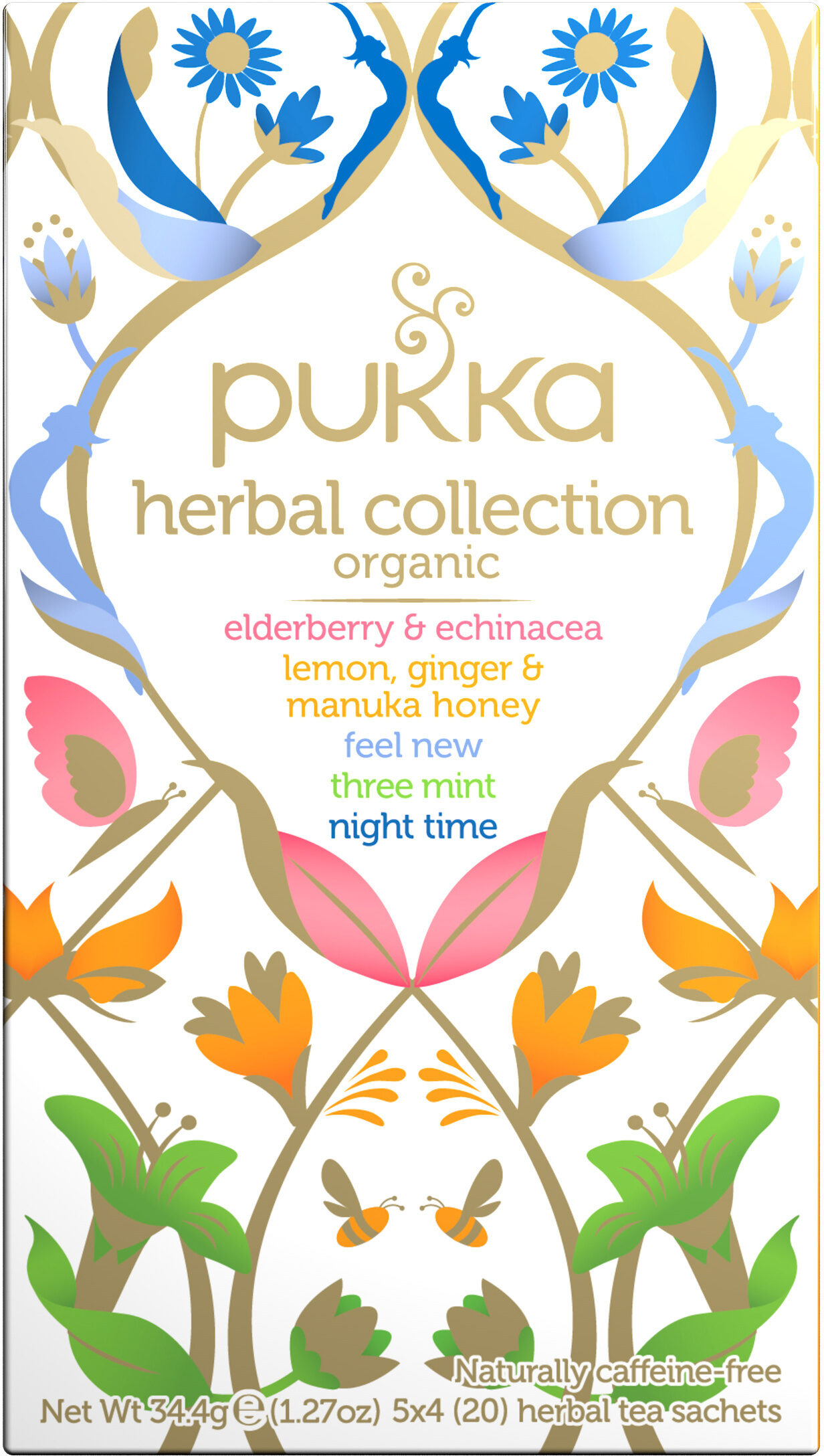 Pukka Infusion Bio Herbal Collection 20 Sachets - Product - fr