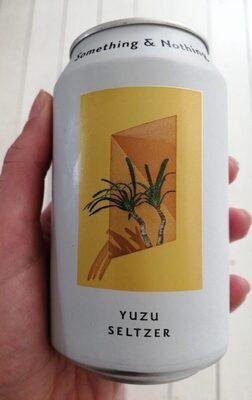 Yuzu seltzer - Product - es