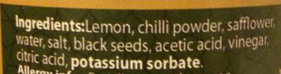 Pickled Lemon - Ingredients - en