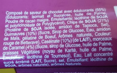 Rocky road - Ingredients