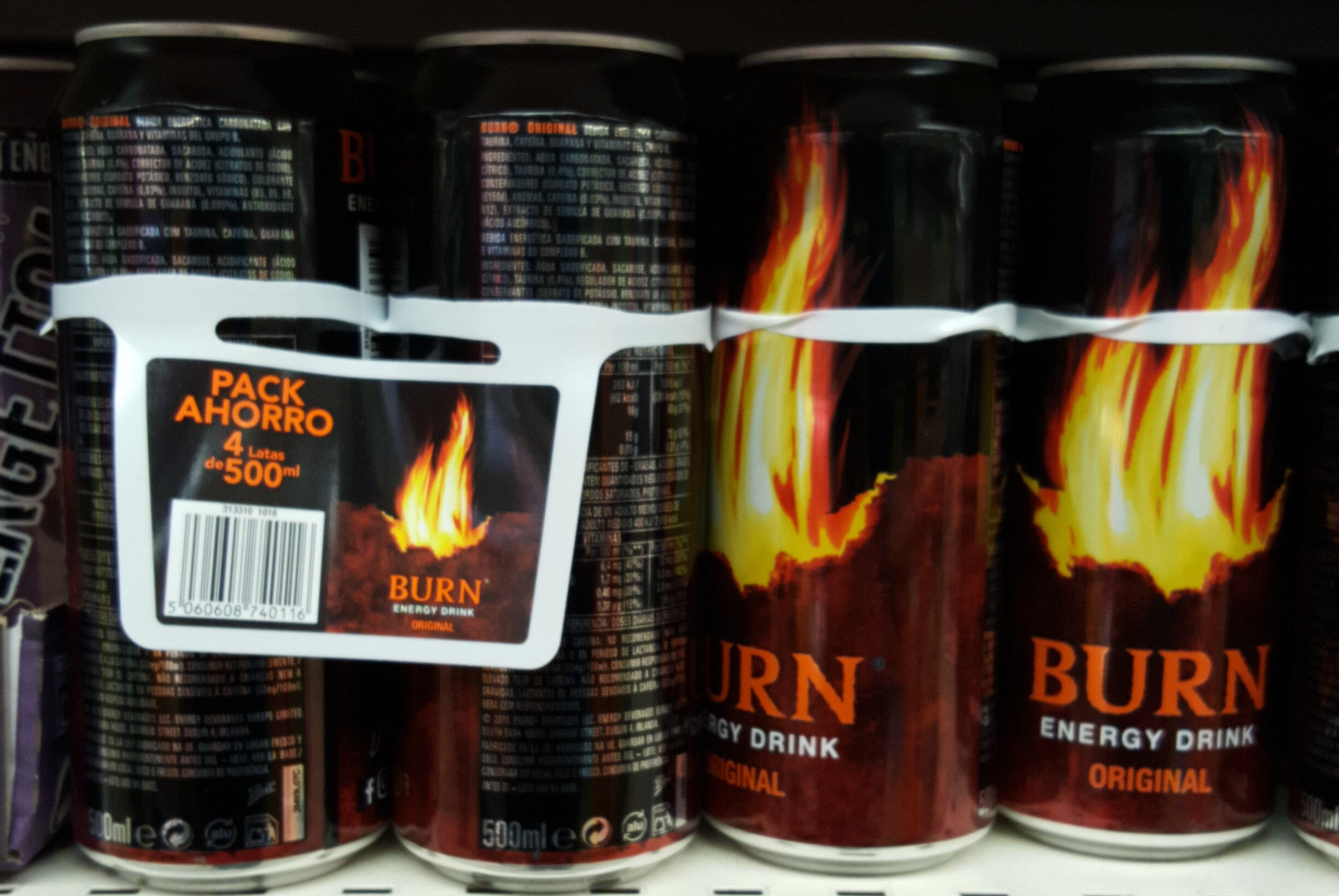 Burn lata pack 4 ahorro - Product - en