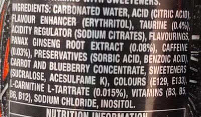 Ultra Black - Ingredients - en