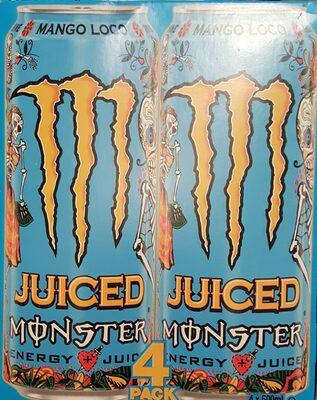 Monster Energy Juiced - 4 Pack - 1