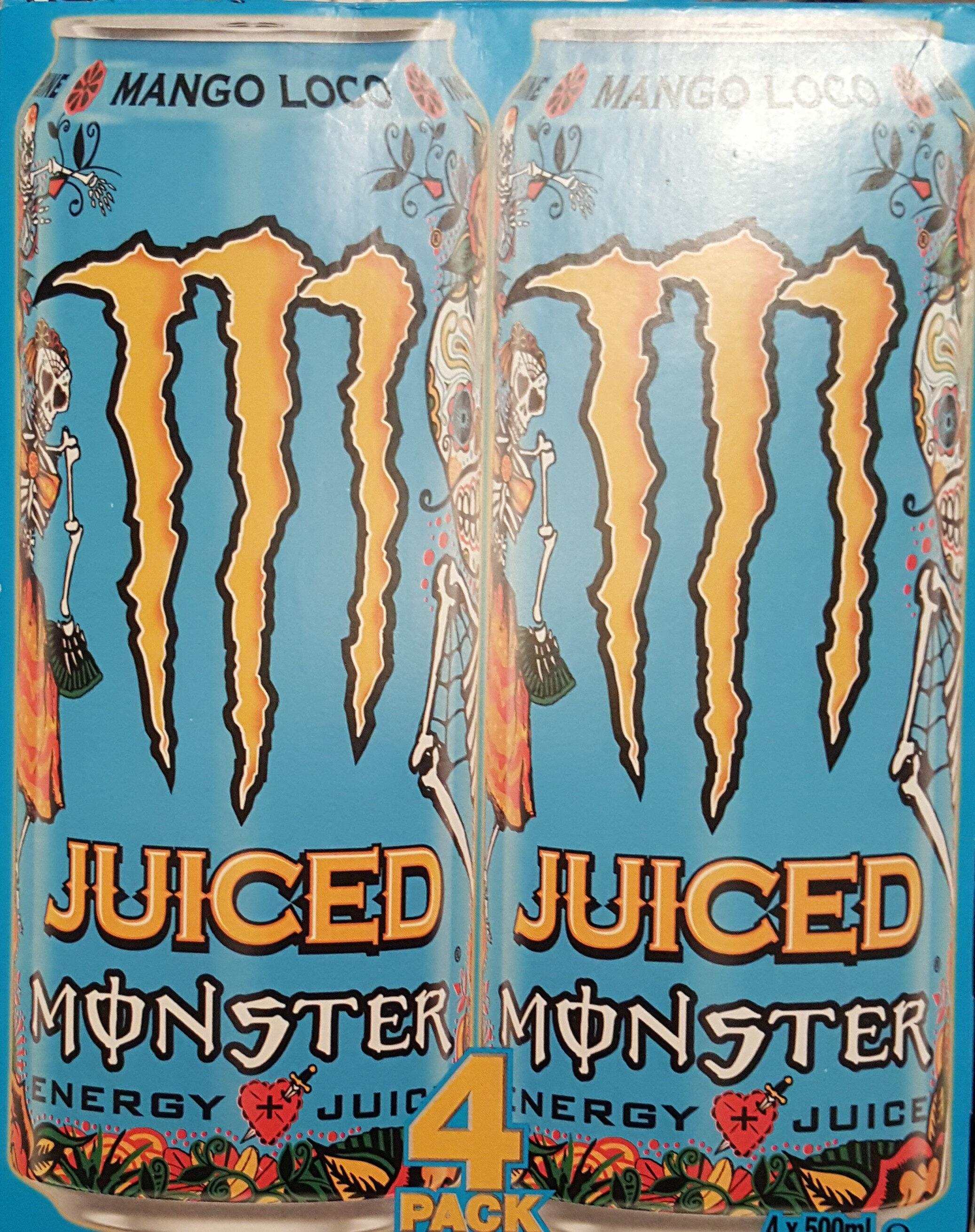 Monster Energy Juiced - 4 Pack - Produit - sv