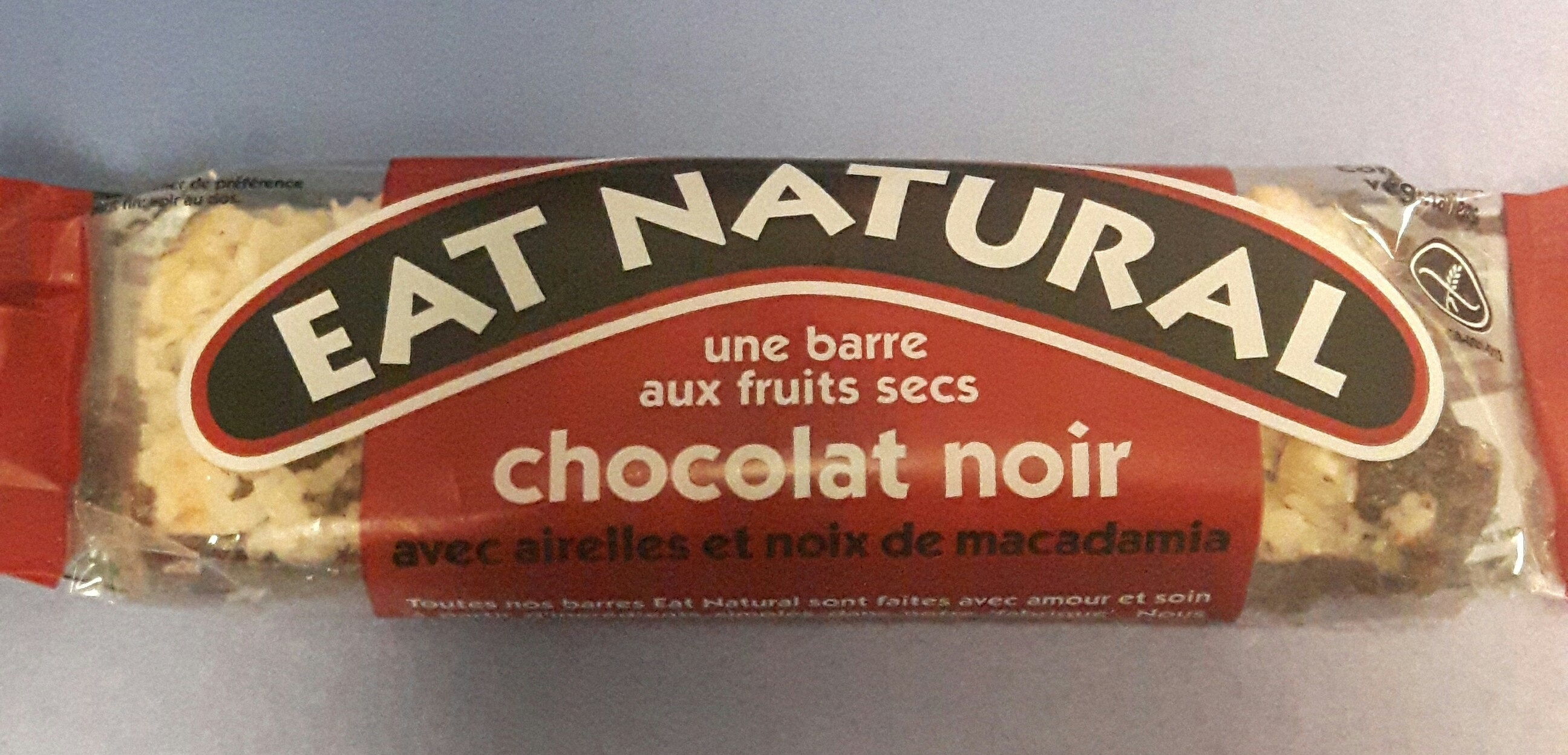 eat natural chocolat noir - Product - fr