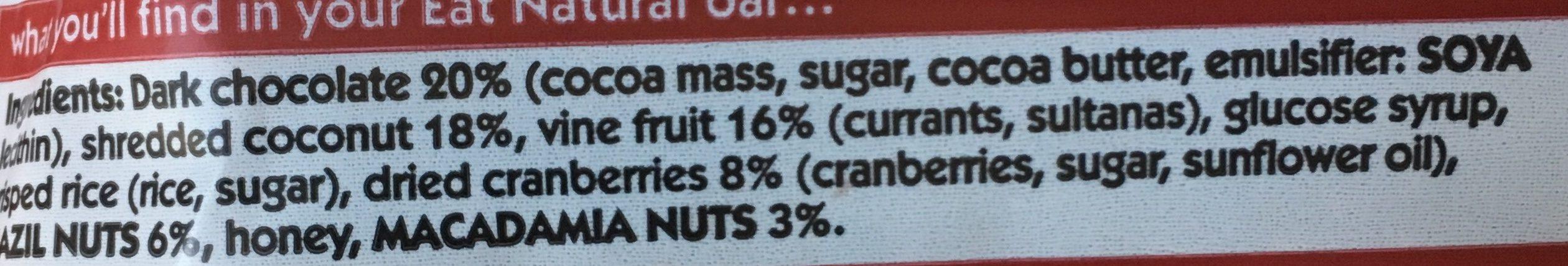 Sour Cherry Sweets - Ingredienti - en