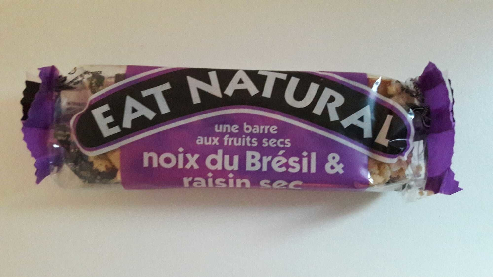 Fruit & Nut Bar Almond & Sultana - Product - fr