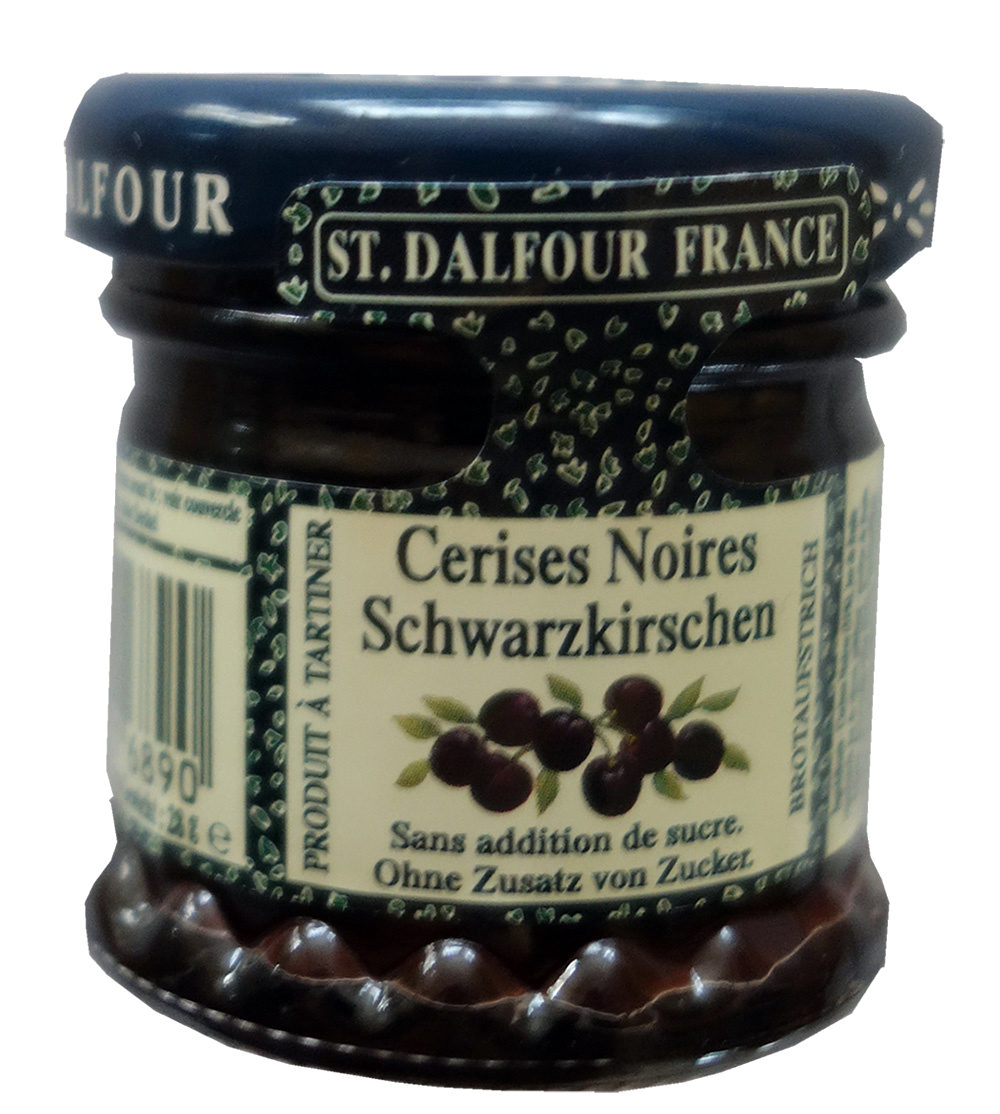 Rhapsodie de fruit St. Dalfour Cerises Noires - Produit - fr