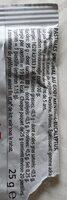 Pastille menthol-eucalyptus - Nutrition facts - fr