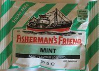 Fisherman's Friend Mint Sugar Free Lozenges - 25G - Product