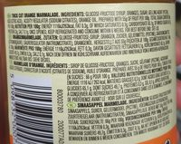 Fruity Orange Marmalade - Ingrédients - fr