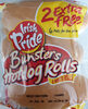 Bunsters Hotdog Rolls - Product