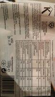 Saumon Bio - Voedingswaarden - fr