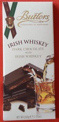 Iris whiskey dark chocolate with irish whiskey - Product