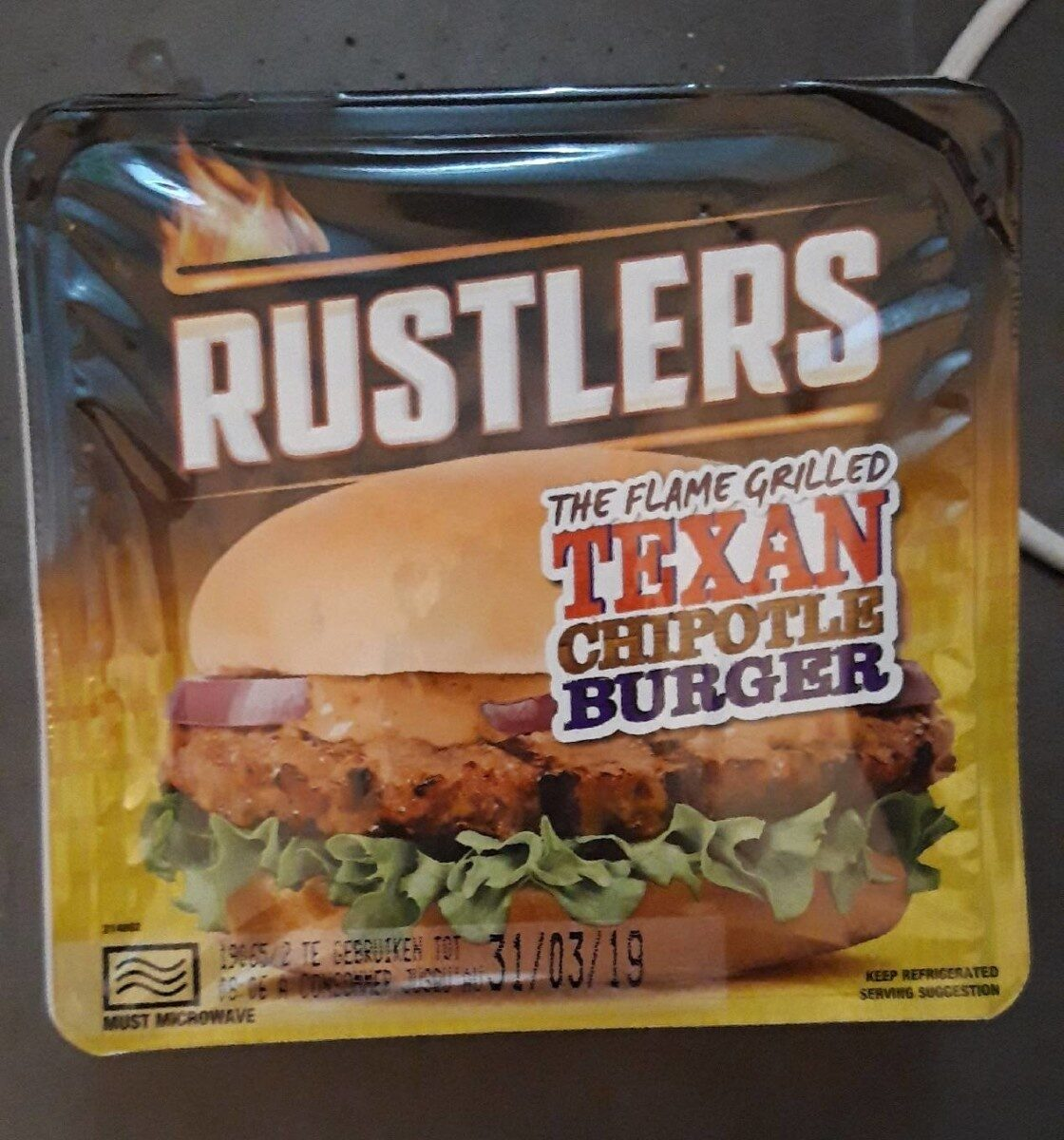 Texan chipotle burger - Product - fr