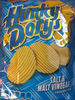 Salt and Malt Vinegar flavour potato crisps - Product