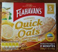 Flahavan's Quick Oats (Lemon Curd Flavour) - Product - en