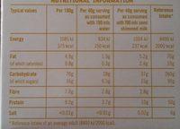 Flahavan's Quick Oats (Lemon Curd Flavour) - Nutrition facts - en