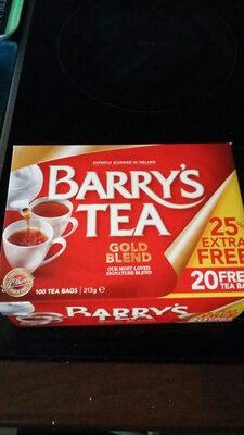 Barrys Gold Blend Tea Bags 80S Plus 25% Extra Free - Product - en