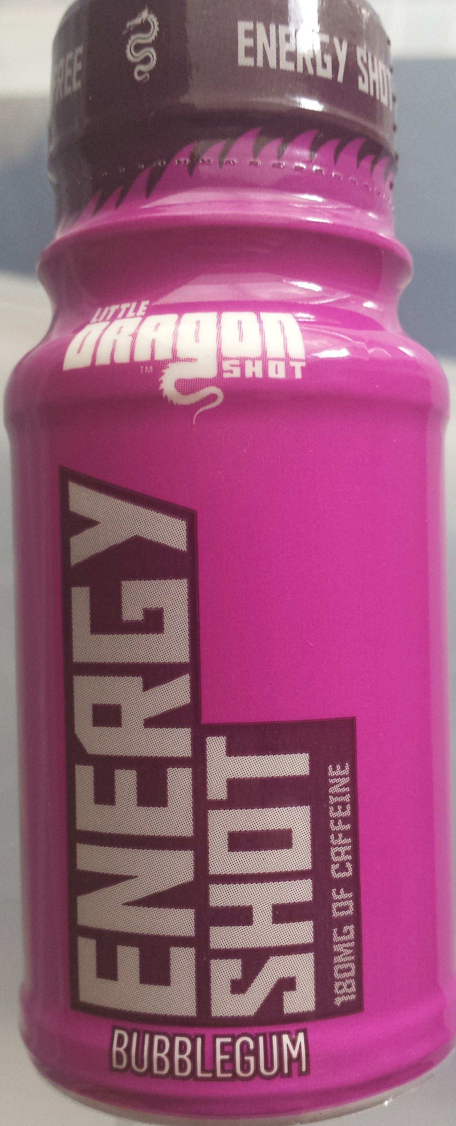 Energy Shot - Bubblegum - Produit