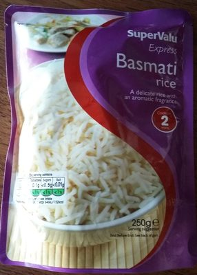 SuperValu Express Basmati Rice - Produit - en
