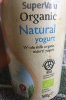 Organic Natural Yogurt - Product