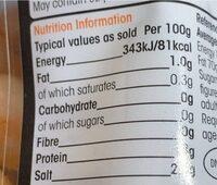 King Prawns - Nutrition facts - en