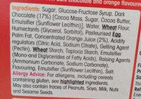 Jaffa cakes - Ingredienti - en