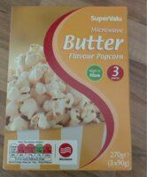 Microwave Butter Flavour Popcorn - Prodotto - en