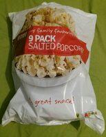 Salted popcorn - Prodotto - en