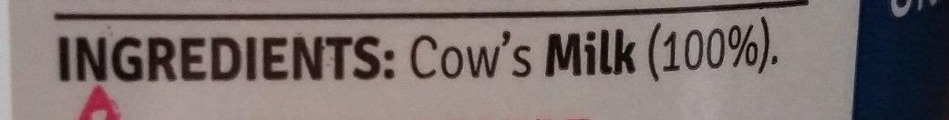 Irish Whole Milk - Ingredients - en