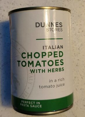 Chopped tomatoes with herbs - Product - en