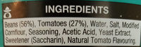 Baked Beans - Ingrédients - en