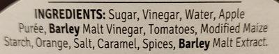 Brown sauce - Ingrediënten - en